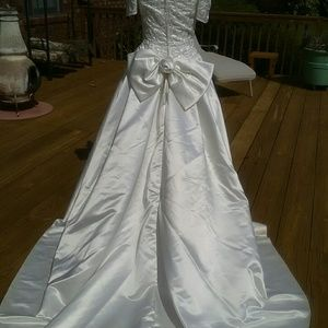 Demetrios Cream Color Wedding Dress   Poshmark